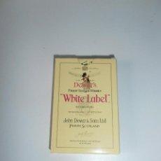 Barajas de cartas: BARAJA DE NAIPES COMAS, PUBLICIDAD WHITE LABEL, MUY NUEVA.. Lote 73560883