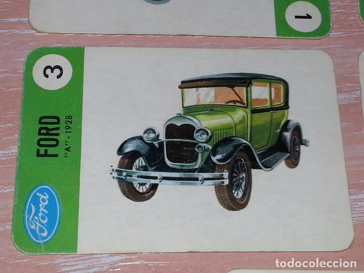 Barajas de cartas: LOTE 5 X CARTAS COCHES FORD - CARTAS DE LA BARAJA EL JUEGO DE LOS COCHES - Foto 5 - 73719931
