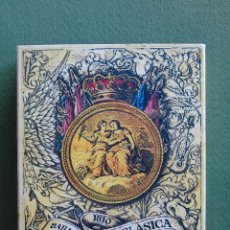 Barajas de cartas: BARAJA ESPAÑOLA NEOCLÁSICA.1810. REAL FABRICA DE CLEMENTE ROXAS. REEDICIÓN HERACLIO FOURNIER 1977. Lote 73780875
