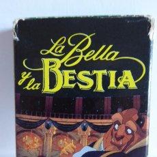 Barajas de cartas: BARAJA LA BELLA Y LA BESTIA - FOURNIER. Lote 73798875