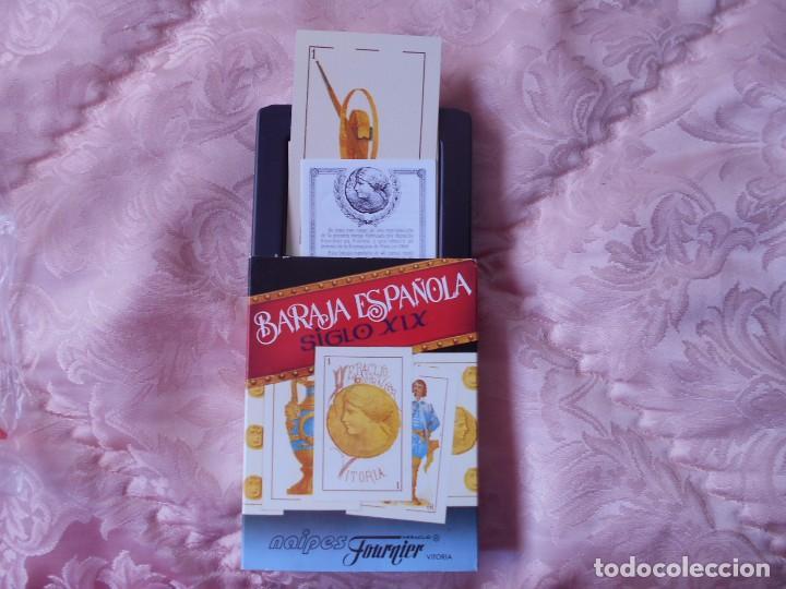 BARAJA ESPAÑOLA SIGLO XIX (Juguetes y Juegos - Cartas y Naipes - Baraja Española)