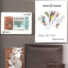 Barajas de cartas: ESTUCHE BARAJA DE CARTAS PROPAGANDA LOTERÍA NACIONAL SERIE- LOS RECURSOS NATURALES - AÑO 1978. Lote 73806275