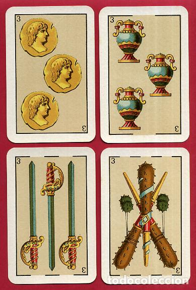 Barajas de cartas: BARAJA VDA. E HIJOS H. FOURNIER , 1ª CLASE , 40 NAIPES , LEER DESCRIPCION , ORIGINAL, B - Foto 5 - 73807019