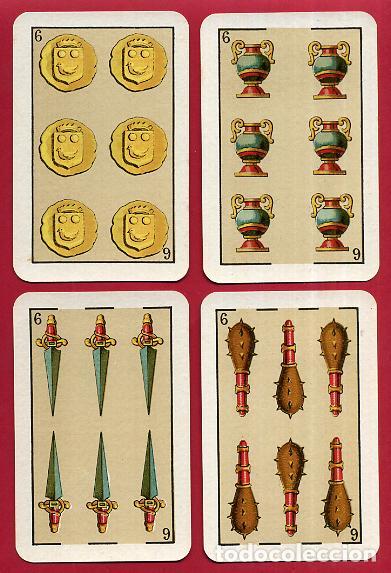 Barajas de cartas: BARAJA VDA. E HIJOS H. FOURNIER , 1ª CLASE , 40 NAIPES , LEER DESCRIPCION , ORIGINAL, B - Foto 8 - 73807019