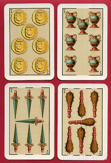 Barajas de cartas: BARAJA VDA. E HIJOS H. FOURNIER , 1ª CLASE , 40 NAIPES , LEER DESCRIPCION , ORIGINAL, B - Foto 9 - 73807019