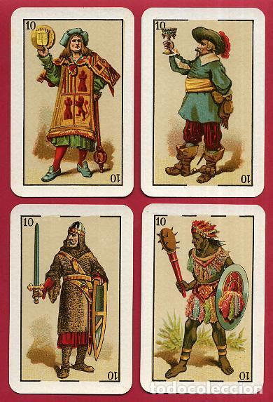 Barajas de cartas: BARAJA VDA. E HIJOS H. FOURNIER , 1ª CLASE , 40 NAIPES , LEER DESCRIPCION , ORIGINAL, B - Foto 10 - 73807019