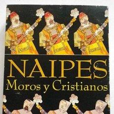 Barajas de cartas: BARAJA ESPAÑOLA NAIPES MOROS Y CRISTIANOS,PRENSA ALICANTINA ILUSTRA MIGUEL CALATAYUD, INCOMPLETA. Lote 77252567