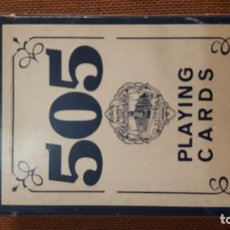Barajas de cartas: BARAJA FOURNIER 505 PLAYING CARDS PLASTIC COATED MADE IN SPAIN. Lote 73996987