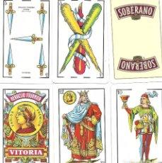 Barajas de cartas: SOBERANO - BARAJA ESPAÑOLA 50 CARTAS. Lote 74170411