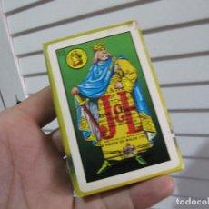 Barajas de cartas: BARAJA WHISKY JB. JUEGO DE NAIPES FOURNIER-NAIPES FIBRA MARFIL. Lote 74239115