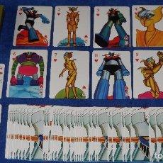 Barajas de cartas: MAZINGER Z - POKER - MICROMO ¡IMPECABLE!. Lote 91659947