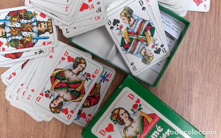 BARAJA DE CARTAS ROMMÉ CANASTA BRIDGE (ALEMANIA) 111 CARTAS EXCELENTE ESTADO (Juguetes y Juegos - Cartas y Naipes - Otras Barajas)
