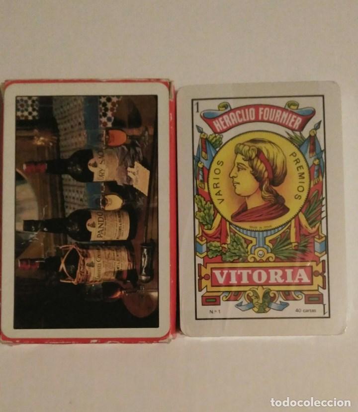 BARAJA DE CARTAS FOURNIER PUBLICIDAD WILLIAMS & HUMBERT VINO-JEREZ-XEREZ-SHERRY 40 CARTAS PRECINTADA (Juguetes y Juegos - Cartas y Naipes - Otras Barajas)