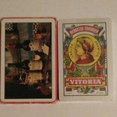 Barajas de cartas: BARAJA DE CARTAS FOURNIER PUBLICIDAD WILLIAMS & HUMBERT VINO-JEREZ-XEREZ-SHERRY 40 CARTAS PRECINTADA. Lote 74494359