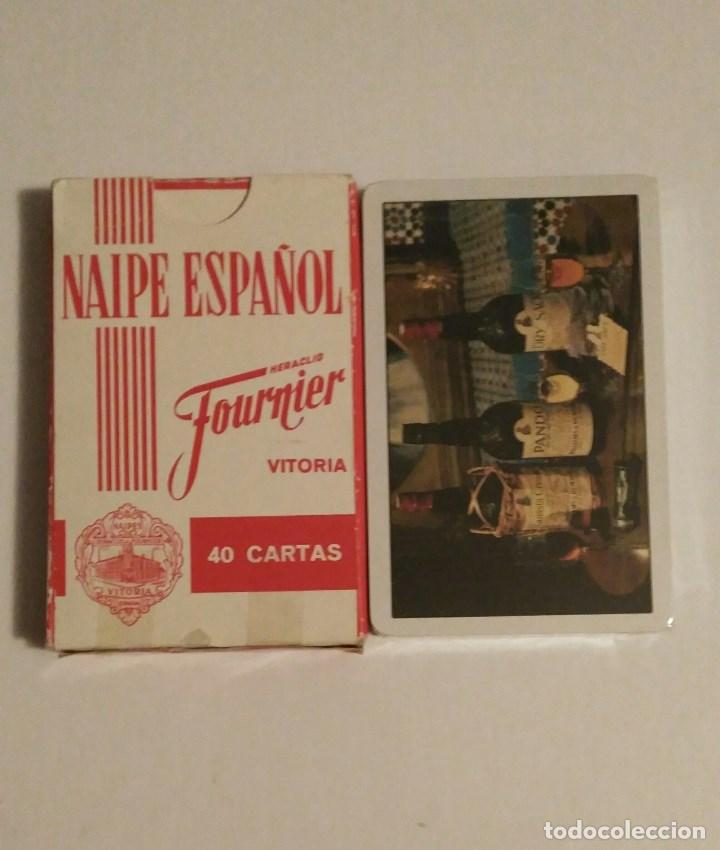 Barajas de cartas: BARAJA DE CARTAS FOURNIER PUBLICIDAD WILLIAMS & HUMBERT VINO-JEREZ-XEREZ-SHERRY 40 CARTAS PRECINTADA - Foto 2 - 74494359