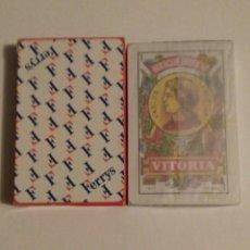 Barajas de cartas: BARAJA DE CARTAS HERACLIO FOURNIER PUBLICIDAD ROPA INTERIOR FERRYS 50 CARTAS NAIPES PRECINTADA. Lote 74494815
