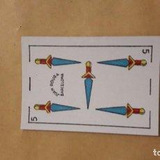 Barajas de cartas: BARAJA ESPAÑOLA LILIPUT.IMPECABLE.JUAN ROURA BARCELONA.40 NAIPES .3X4,5 CMS. Lote 74657163