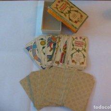 Mazzi di carte: BARAJA DE CARTAS DEL TAROT ESPAÑOL. SPANISH BILINGUAL, BILINGÜE. FOURNIER 1978. Lote 74896835