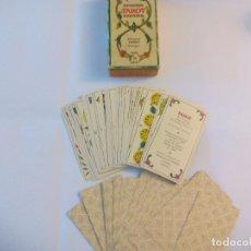 Barajas de cartas: BARAJA DE CARTAS DEL TAROT ESPAÑOL. 56 CARTAS, SOLO LOS ARCANOS MENORES. FOURNIER 1978. Lote 74898823