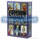 Barajas de cartas: TAROT DE LOS SANTOS - ROBERT M. PLACE (SET). Lote 74930671