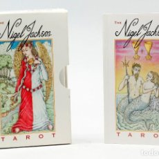 Barajas de cartas: THE NIGEL JACKSON TAROT - NIGEL JACKSON (SET). Lote 74931851