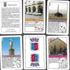 Barajas de cartas: BARAJA HISTORIA DE CALAHORRA, 1999, FOTOS DESCRITAS, 52 CARTAS + 2 COMODINES + 1. SIN ESTRENAR.. Lote 74940807