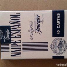 Barajas de cartas: BARAJA FOURNIER PUBLICIDAD AREAS TUDANCA DIFICIL DE ENCONTRAR. Lote 75114115