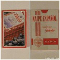 Barajas de cartas: BARAJA DE CARTAS HERACLIO FOURNIER PUBLICIDAD PACHARAN ZOCO 40 CARTAS NAIPES PRECINTADA. Lote 75151555