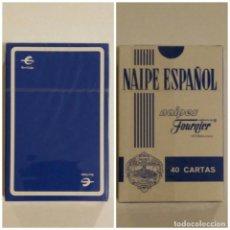 Barajas de cartas: BARAJA DE CARTAS HERACLIO FOURNIER PUBLICIDAD CAJA IBERCAJA 40 CARTAS NAIPES PRECINTADA. Lote 169832876