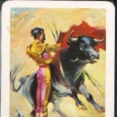 Barajas de cartas: BARAJAS CARTAS NAIPES ESPAÑOL AÑO 1968 CORRIDA DE TOROSO. Lote 75187991