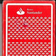 Barajas de cartas: CARTAS BARAJAS NAIPES BANCO SANTANDER. Lote 75194155