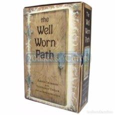 Barajas de cartas: TAROT WELL WORN PATH (SET) (40 CARTAS + BOLSA) (EN) (LLEWELLYN). Lote 75195215