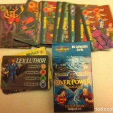 Barajas de cartas: BATMAN/SUPERMAN -DC- CARDGAME - 69 CARDS (1996). Lote 75471707
