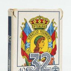 Barajas de cartas: BARAJA ESPAÑOLA. NAIPES - HERACLIO FOURNIER.Nº 32 1962. Lote 75963847