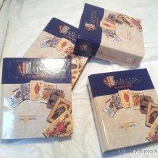 Barajas de cartas: BARAJAS DE COLECCIÓN DE EDICIONES DEL PRADO DE 2004..SOLO FASCICULOS SIN BARAJAS !!!!!. Lote 76031711