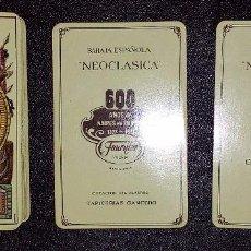 Barajas de cartas: NAIPE-BARAJA ESPAÑOLA NEOCLASICA- HERACLIO FOURNIER. Lote 171278962