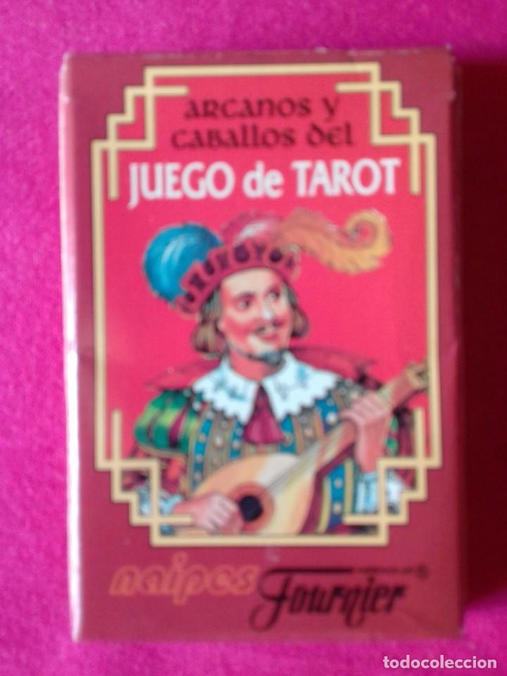 BARAJA ARCANOS Y CABALLOS DEL JUEGO DE TAROT 26 NAIPES FOURNIER. NUEVA. SIN USO (Juguetes y Juegos - Cartas y Naipes - Barajas Tarot)