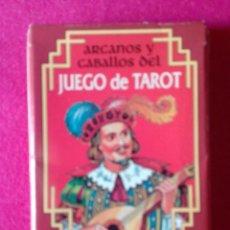 Barajas de cartas: BARAJA ARCANOS Y CABALLOS DEL JUEGO DE TAROT 26 NAIPES FOURNIER. NUEVA. SIN USO. Lote 76583551