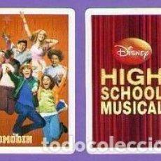 Mazzi di carte: COMODÍN CARTA NAIPE HIGH SCHOOL MUSICAL HERACLIO FOURNIER DISNEY 2006. Lote 76800519