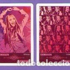 Mazzi di carte: LOTE 2 COMODINES CARTAS NAIPES HANNA MONTANA HERACLIO FOURNIER DISNEY. Lote 76804823