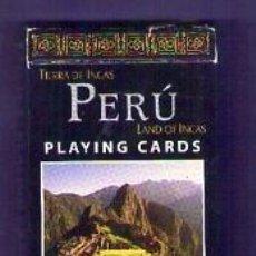 Barajas de cartas: BARAJA DE CARTAS - NAIPES PERÚ LAND OF INCAS - TIERRA DE INCAS ED. HIPOCAMPO 54 CARTAS EN INGLÉS. Lote 76808147