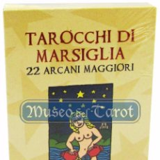 Barajas de cartas: TAROCCHI DI MARSIGLIA - MARIO DELUCIS (AUTOGRAFIADO) (NUMERADOS 026/300) (IT). Lote 76871751