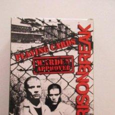 Barajas de cartas: MUY RARA, BARAJA DE CARTAS PRISON BREAK, ESTADO IMPECABLE, A ESTRENAR. Lote 77012389