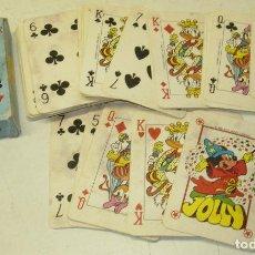 Jeux de cartes: BARAJA, NAIPES, LAS CARTAS DE YO, DONALD, WALT DISNEY. Lote 77540737