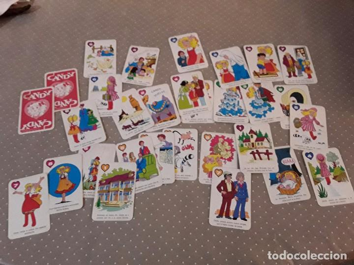 32 CARTAS CANDY CANDY PARA COMPLETAR (Juguetes y Juegos - Cartas y Naipes - Barajas Infantiles)