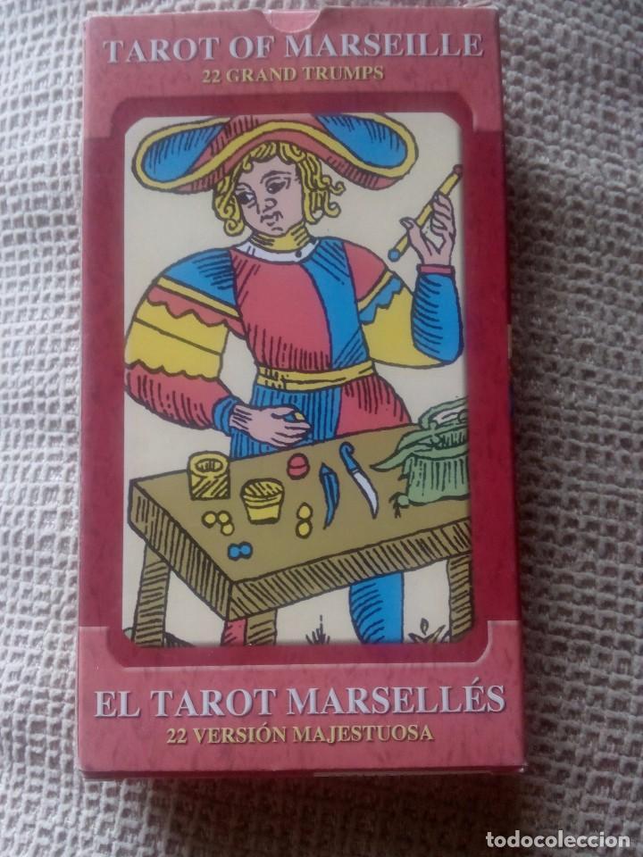 BARAJA DEL TAROT MARSELLÉS 22 ARCANOS MAYORES (Juguetes y Juegos - Cartas y Naipes - Barajas Tarot)