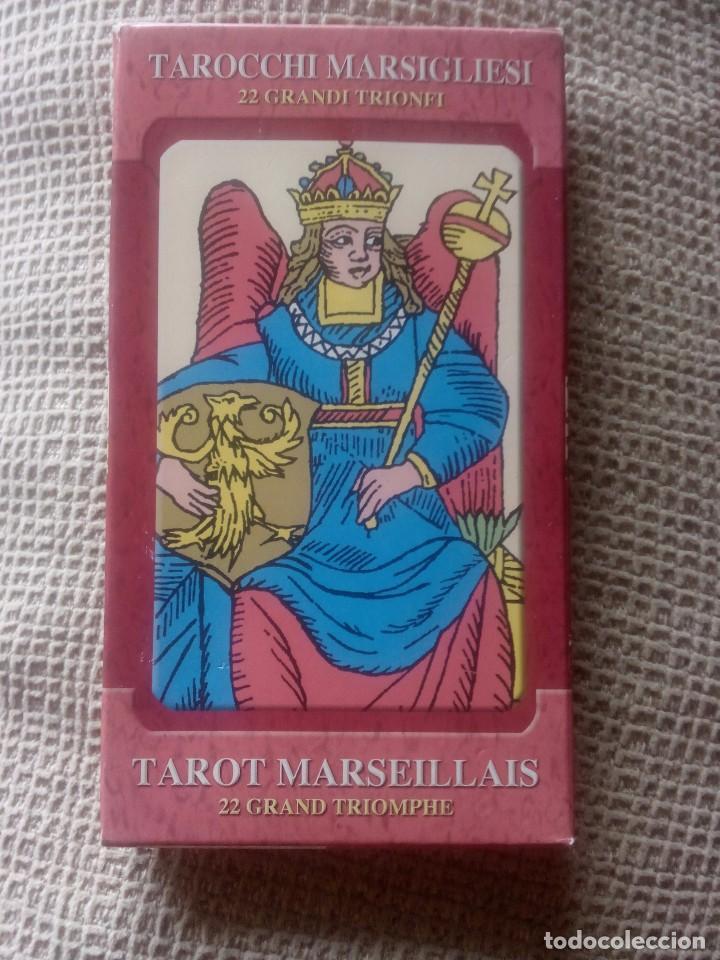 Barajas de cartas: Baraja del tarot Marsellés 22 Arcanos Mayores - Foto 2 - 77674425