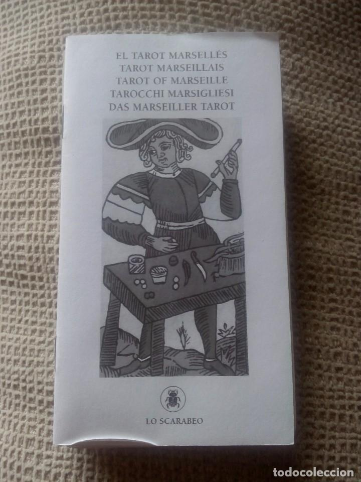 Barajas de cartas: Baraja del tarot Marsellés 22 Arcanos Mayores - Foto 3 - 77674425
