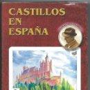 Barajas de cartas: PRECIOSA BARAJA DE NAIPES FOURNIER, CASTILLOS EN ESPAÑA, 55 CARTAS ESTUCHE PRECINTADO.. Lote 77798389