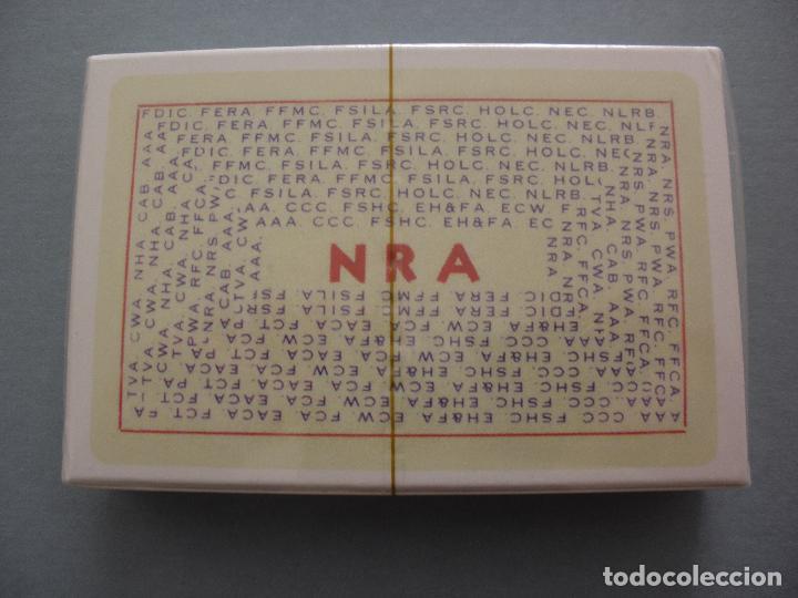 Barajas de cartas: BARAJA ROOSEVELT FDR NEW DEAL DECK OF 1934, USA, NUEVA, PRECINTADA - Foto 2 - 83369030